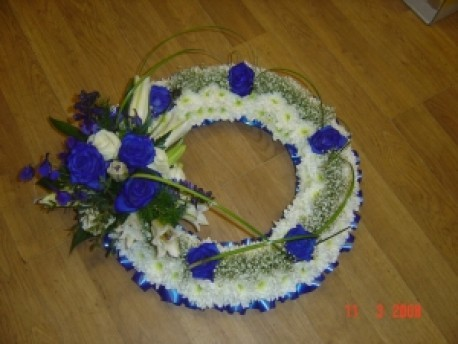 Funeral Wreath - Based